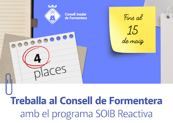 Call for 4 information assistants with SOIB Reactiva