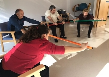 Formentera Day Centre begins Dance Therapy